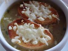 Französische Zwiebelsuppe - Rezept - Bild Nr. 4910