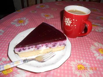 Rezept: Fruchtige - Joghurt - Torte