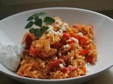 Griechische Puten-Reispfanne  - Rezept - Bild Nr. 4951