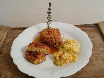 Pulled Pork fränkisch (Sous-vide) mit Semmel-Knödeln - Rezept - Bild Nr. 4951