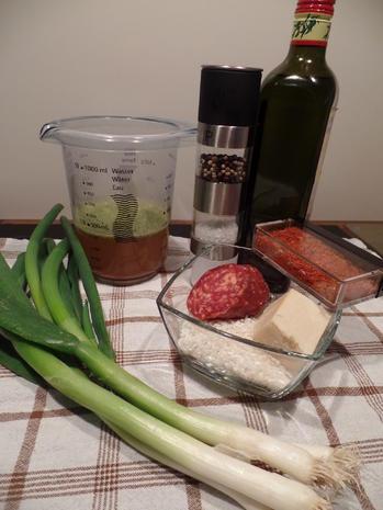 Lauch-Risotto mit Chorizo - Rezept - Bild Nr. 4958