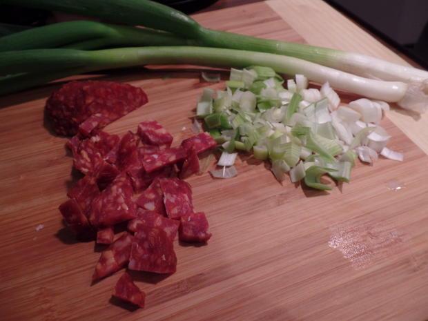 Lauch-Risotto mit Chorizo - Rezept - Bild Nr. 4959