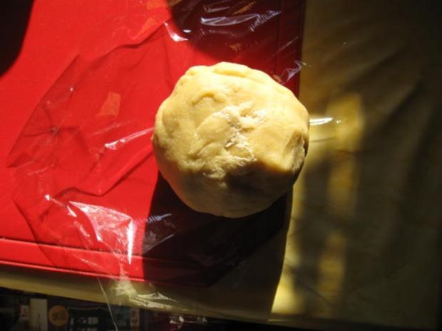 Käsekuchen mit Kokosmilch und Kirschen - Rezept - Bild Nr. 5038
