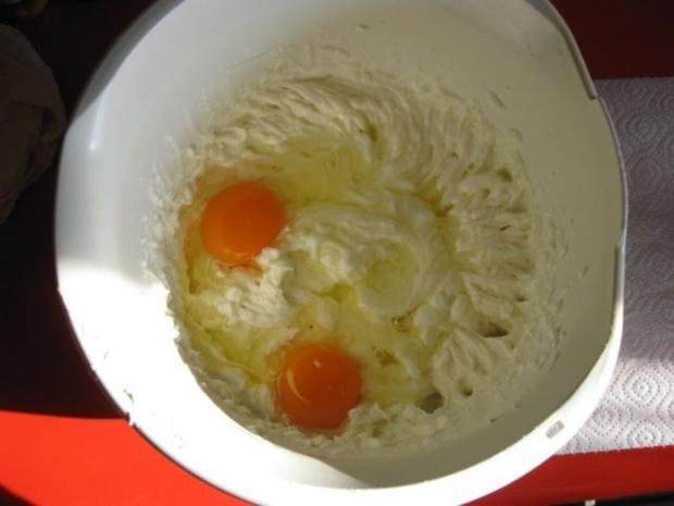 Käsekuchen mit Kokosmilch und Kirschen - Rezept - Bild Nr. 5040