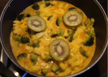 Exotische Gemüse-Eierpfanne - Rezept - Bild Nr. 5033
