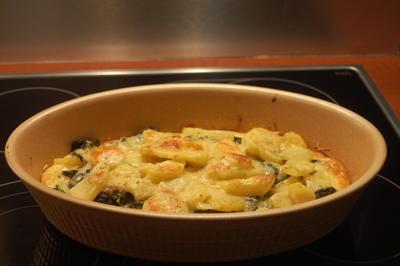 Rezept: Pastinaken-Spinat-Auflauf
