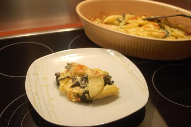Pastinaken-Spinat-Auflauf - Rezept - Bild Nr. 5050