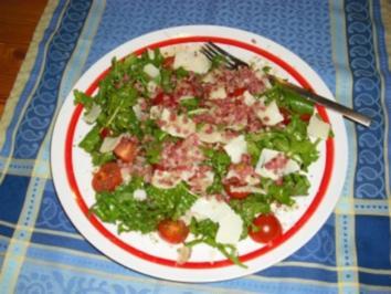 Rezept: Rucola-Salat - so wie ich ihn mag