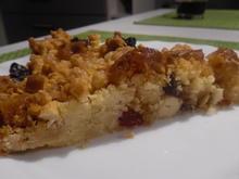Toffee-Cashew-Crumble-Tarte - Rezept - Bild Nr. 5085