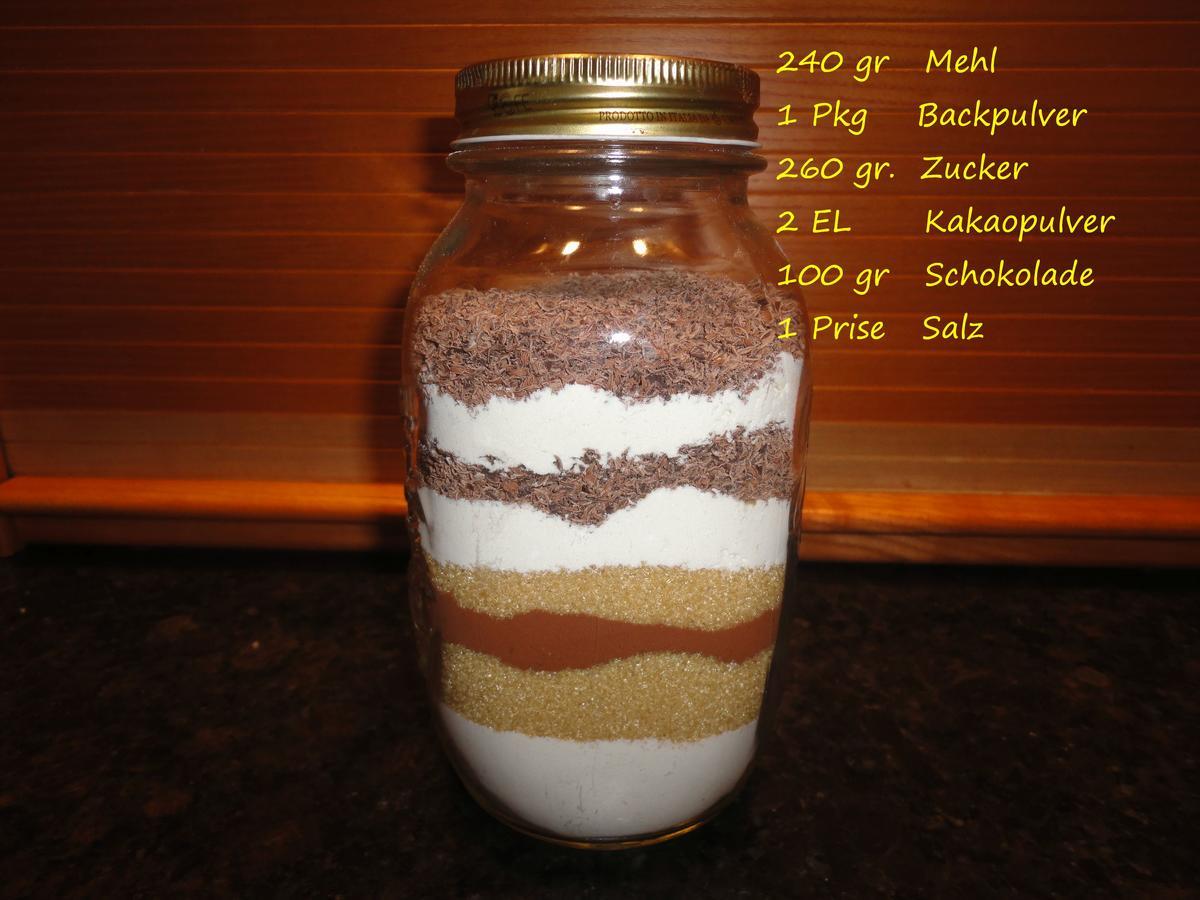 Glas verschenken rezept kuchen im Kuchen im