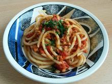 Vegetarische Bolognese - Rezept - Bild Nr. 5128