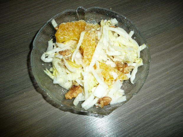 Gänsekeulen an Rosmarinkartoffel, kandierten Maronen + Chiccoreesalat - Rezept - Bild Nr. 5124