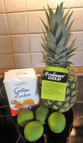 Ananas - Limetten - Konfitüre - Rezept - Bild Nr. 5180