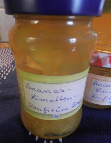 Ananas - Limetten - Konfitüre - Rezept - Bild Nr. 5190