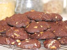 Schokoladen-Nuss-Cookies - Rezept - Bild Nr. 5230