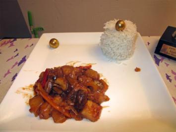 Hühnerfleisch krass ummantelt an pikanter Tomaten-Madeira Sauce - Rezept - Bild Nr. 5246