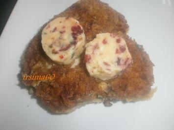 Cranberrybutter mit grünem Pfeffer - Rezept