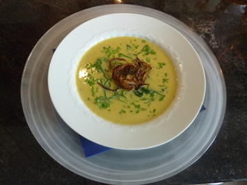 Frisches Zuckermais Sahnesuppe - Rezept