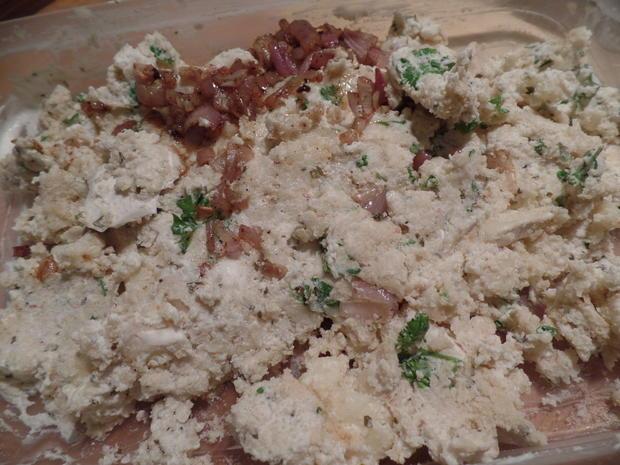 Schweinefilet mit Käsekruste im Blätterteigmantel - Rezept - Bild Nr. 5