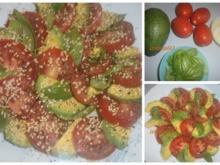 Tomaten-Avocado-Salat - Rezept