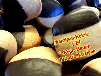 Mazu12-Marzipan Kekse - Rezept