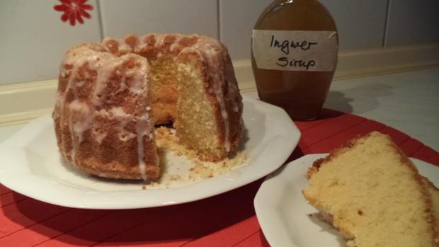 Ingwer-Gugelchen mit Zitronenhauch - Rezept