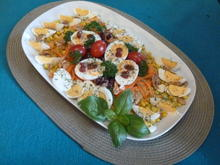 Eiernest-Salatplatte - Rezept - Bild Nr. 3