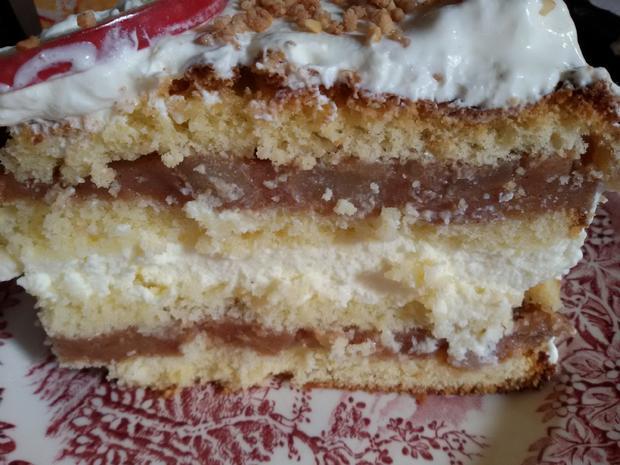 Apfel Zimt Torte Rezept Mit Bild Kochbar De