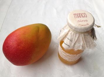 Mangosirup - Rezept