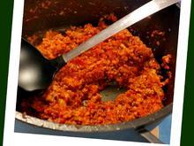 Hackfleisch-Soße mit kleinen Nudeln / Kinder-Gericht - Rezept