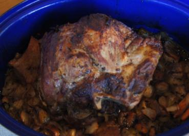 Gebratener - Gebackener Schweinenacken - Rezept