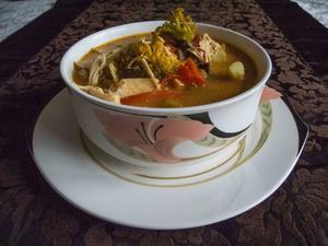 Suppe: Hähnchen-Kokos-Suppe - Rezept