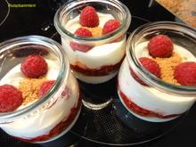 Dessert:   VANILLEJOGHURT mit Himbeeren - Rezept - Bild Nr. 6