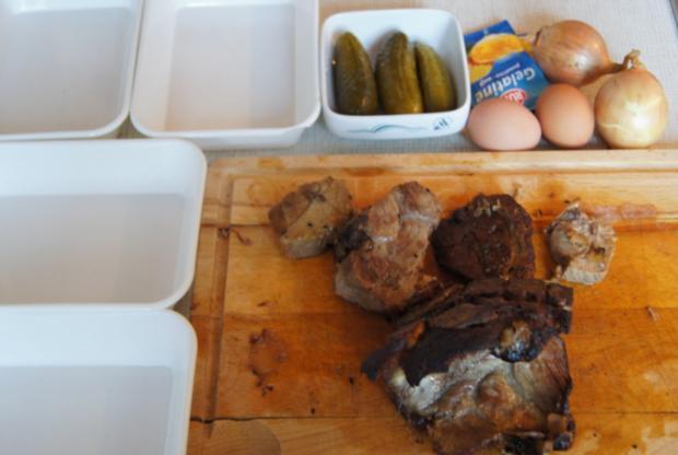 Sülze mit Schweinenacken - Rezept - Bild Nr. 2