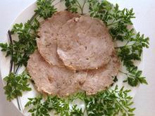 Hähnchenaufschnitt mit Röstzwiebeln - Rezept - Bild Nr. 3