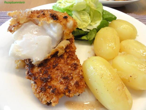 Fisch:   KABELJAU im Knuspermantel - Rezept - Bild Nr. 5