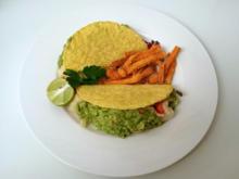Fish Tacos mit frittiertem Heilbutt - Rezept