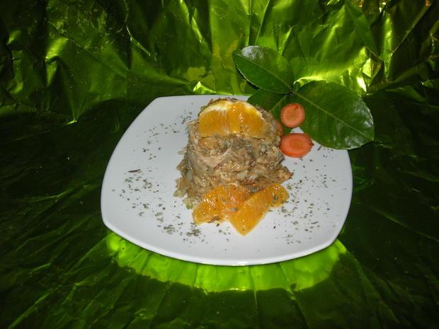 Fricase de Pollo - Rezept