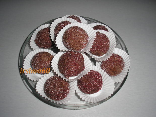 Schokoladen-Kirsch-Trüffel - Rezept - Bild Nr. 6