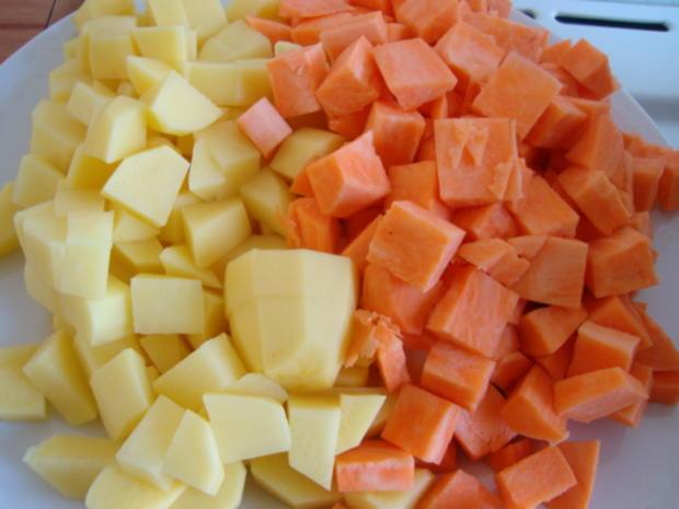 Kartoffel-Bohnentopf mit deftigen Einlagen - Rezept - Bild Nr. 2405
