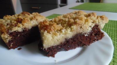 Schokoladen-Knusper-Kuchen - Rezept