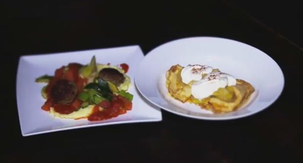 Reste-Spar-Menü für drei Tage: Kartoffelsuppe, Frikadellen und Pfannkuchen - Rezept - Bild Nr. 2