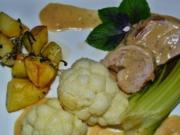 Schweinefilet mit Blumenkohl u. Krabschis à la Biggi - Rezept - Bild Nr. 19