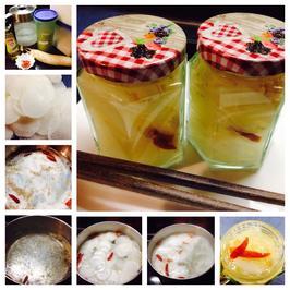 Eingelegter Rettich japanische Art - Rezept