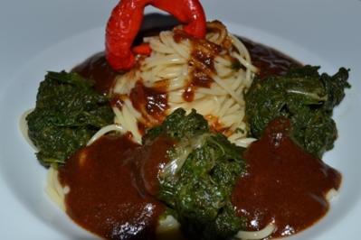 Spaghetti mit Pak Choi Gemüse - Rezept - Bild Nr. 10