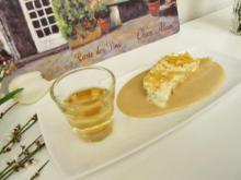 Mandelparfait auf einem Zabaglione Spiegel - Rezept