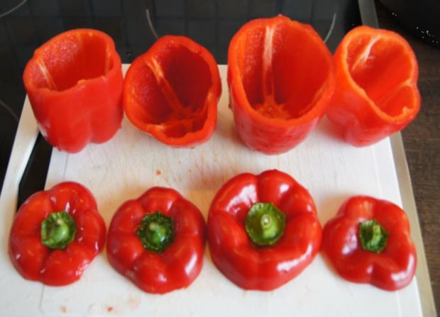 Paprika gefüllt - Rezept - Bild Nr. 3