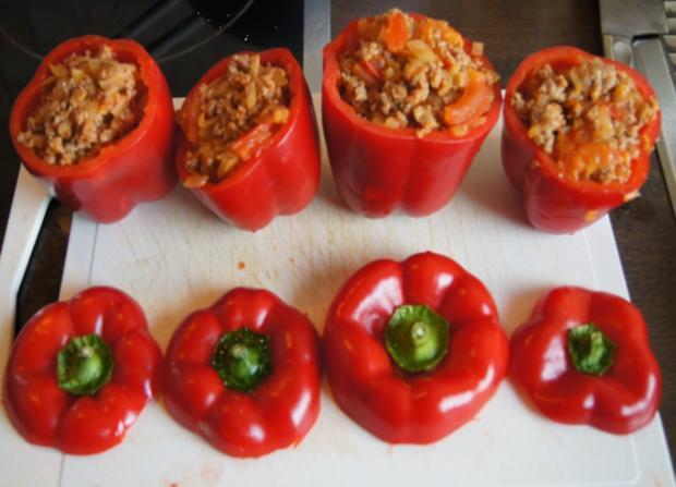 Paprika gefüllt - Rezept - Bild Nr. 9