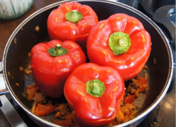 Paprika gefüllt - Rezept - Bild Nr. 10