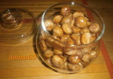 Macadamianüsse mit Salzkaramell - Rezept